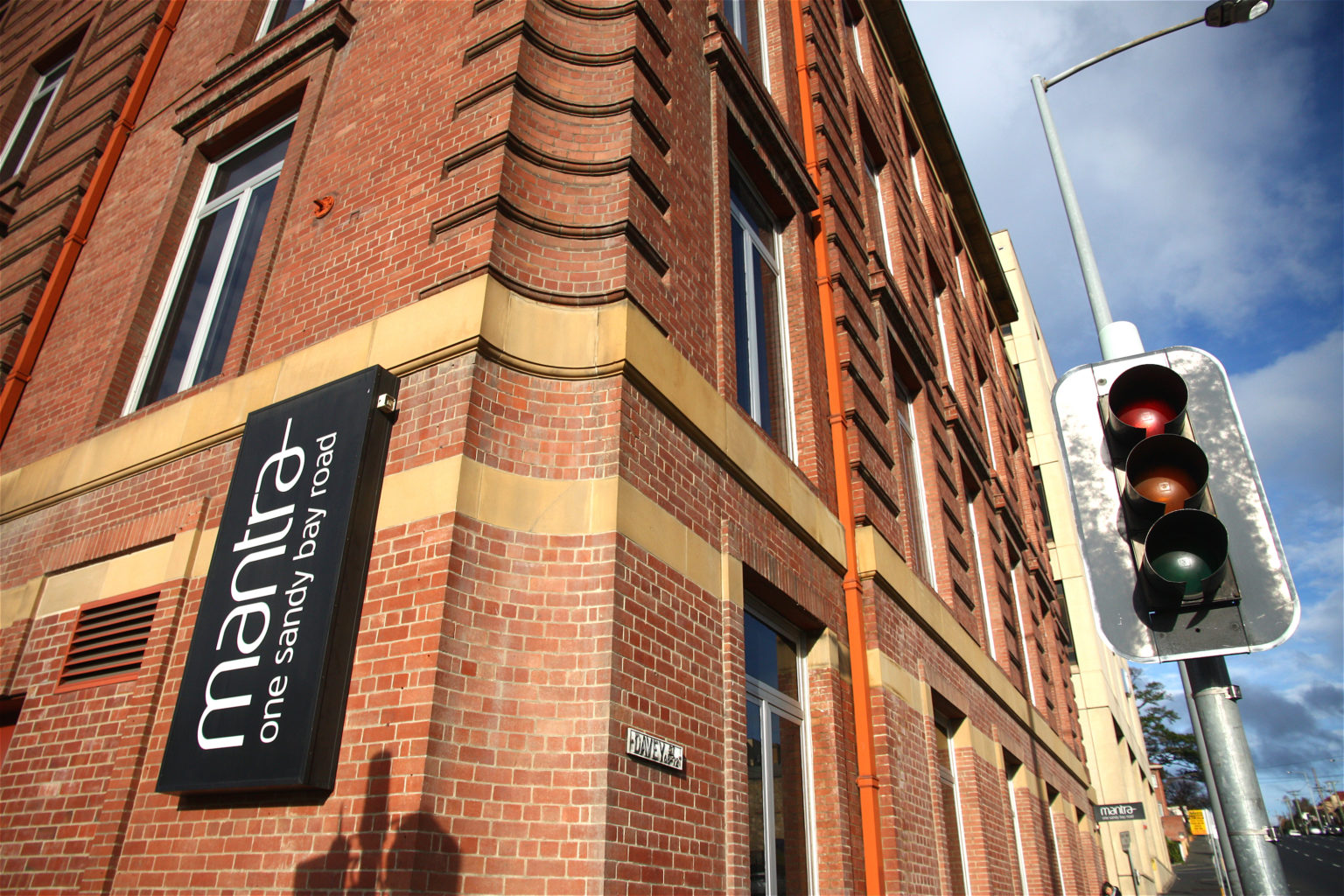 Hobart Tasmania mantra one sandy bay road