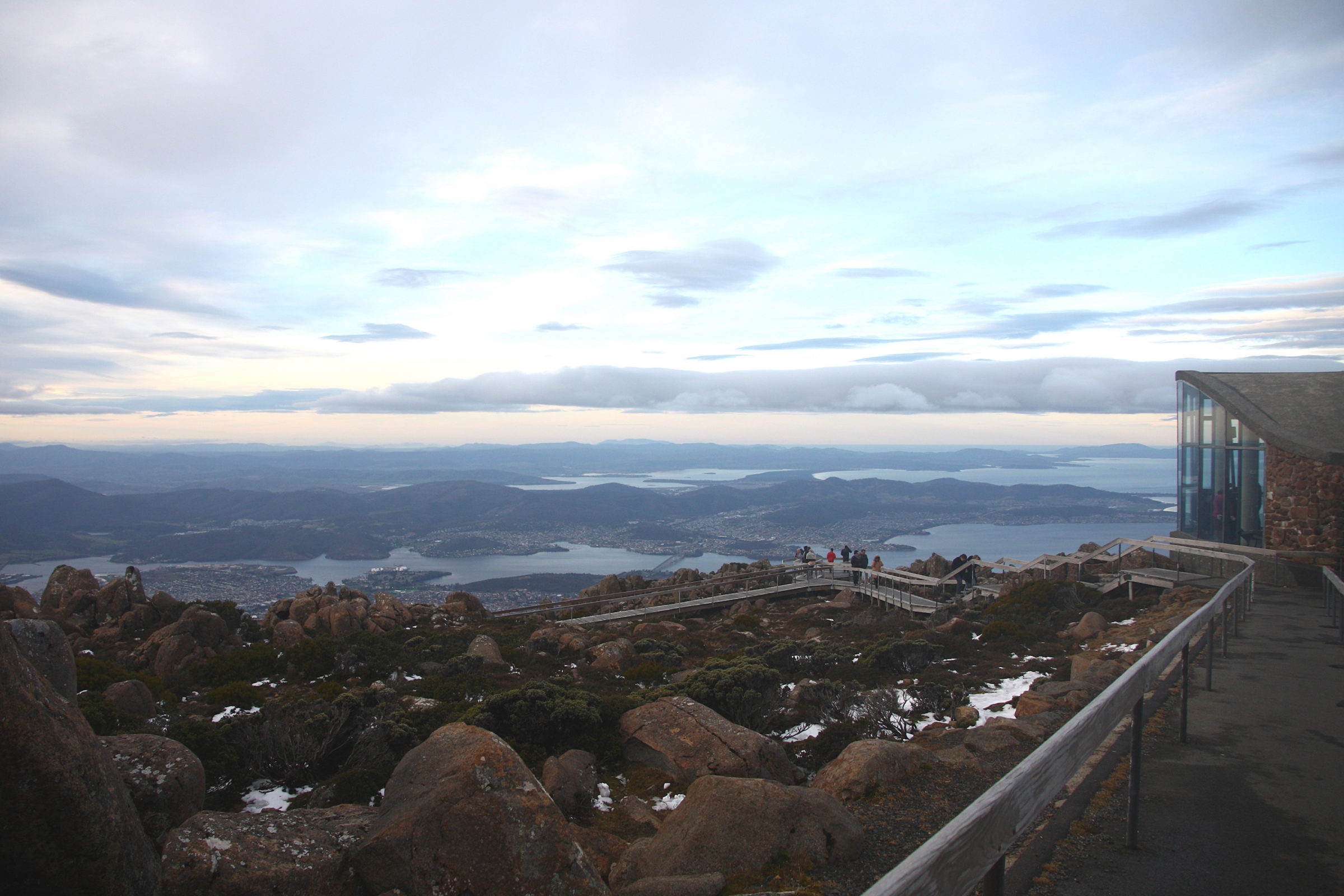 Tasmania Road Trip Itinerary, Day 1: Hobart and Mount Wellington