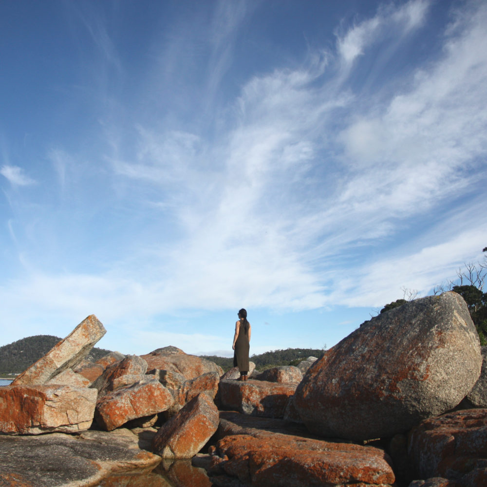 tasmania self drive road trip itinerary Bicheno