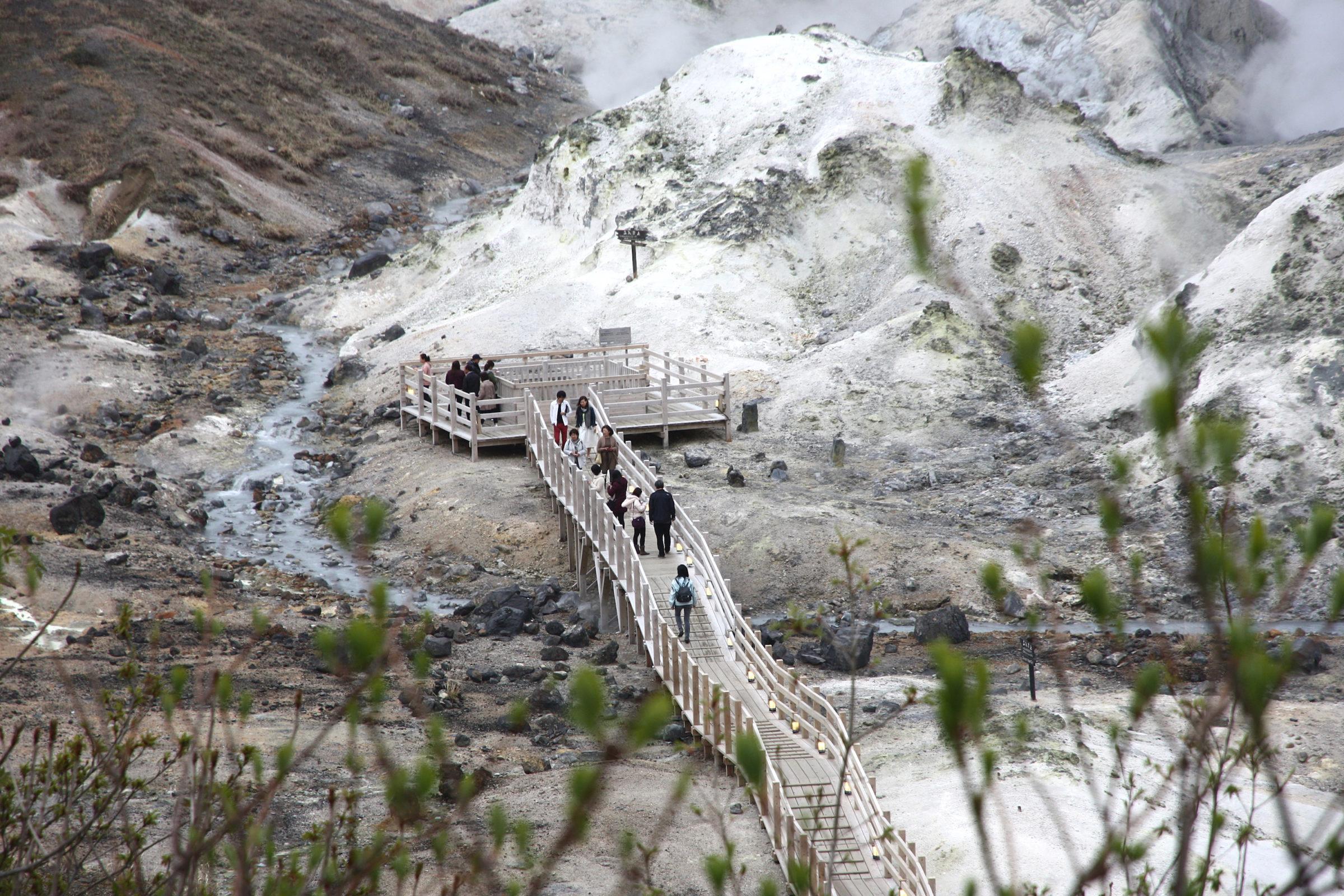 Hokkaido Road Trip Itinerary, Day 3: Noboribetsu